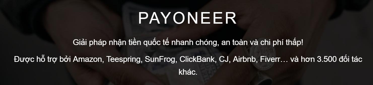 Các đối tác của Payoneer