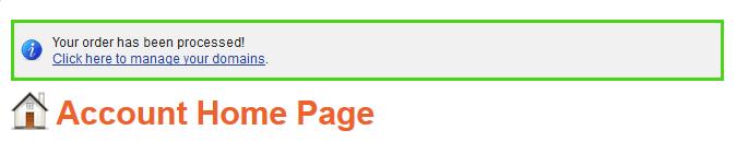 Vào quản lý tên miền trong NameSilo